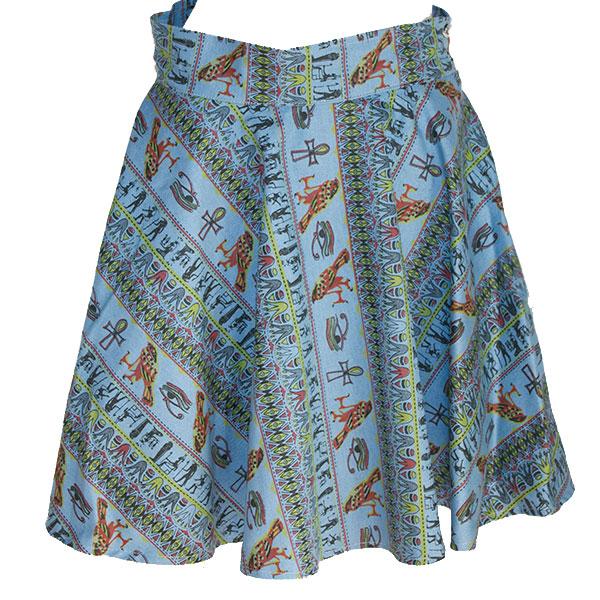 デニムフレアースカート