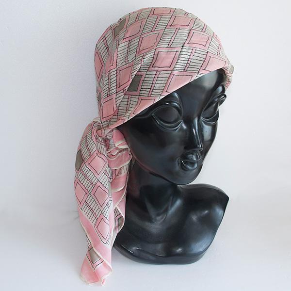 ヴィンテージシルクスカーフ