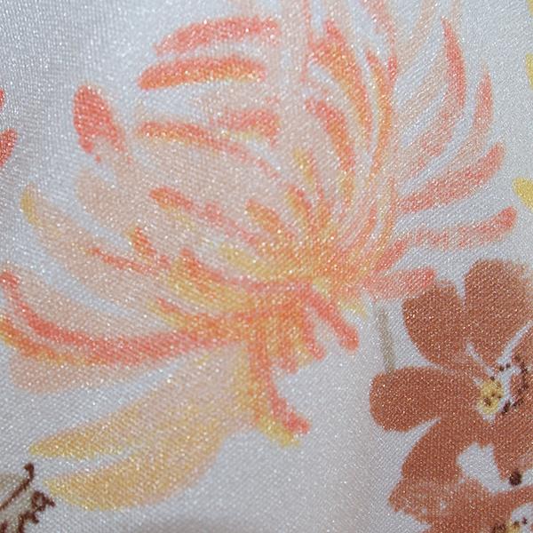 花柄プルオーバーシャツ