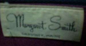 margaret smith ヴィンテージ花柄ハンドバッグ