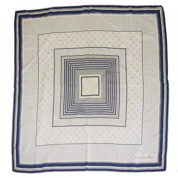 クリスチャンディオール Diorロゴ柄スカーフ