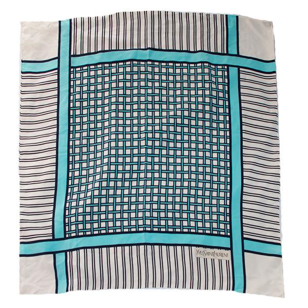 ヴィンテージYSL水玉スカーフ